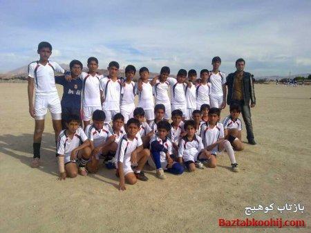 پیروزی نوجوانان کوهیج مقابل نوجوانان فاریاب